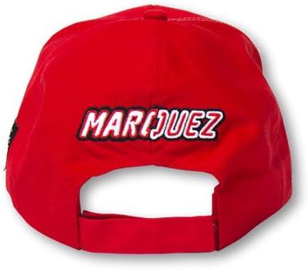 VR46 MMMCA59707 Marc Marcquez 93 Paddock Cap Universal Red