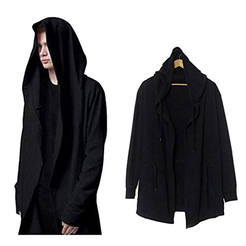 Xiucos Hooded Windbreaker Trench Outwear product image