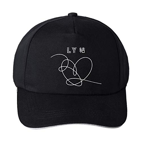 5f42bea24566c ZIGJOY Unisex BTS Baseball Caps with Signature Bangtan Boys Beanies Bucket  Hat JIE Black