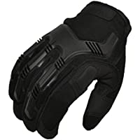 Zulal Impex BMGI-L Tyrex Military Special Force Tactical Gloves For Shooting, Hunting, Riding, Covert Black, Large by Zulal Impex