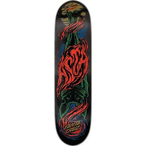 Santa Cruz Asta Bat Skateboard Deck -8.0 Powerply - Assembled AS Complete Skateboard
