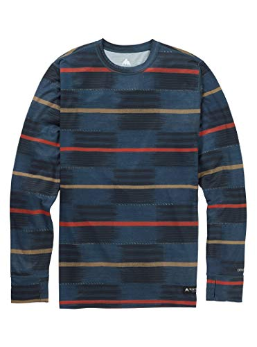 Burton Men's Midweight Crew Top, Medium, Checkyoself