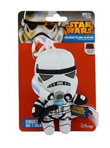Star Wars Rebels Stormtrooper Mini Talking Plush Clip-On