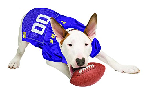 Image of Pets First NCAA Louisiana State University Tigers Dog Jersey, XX-Large