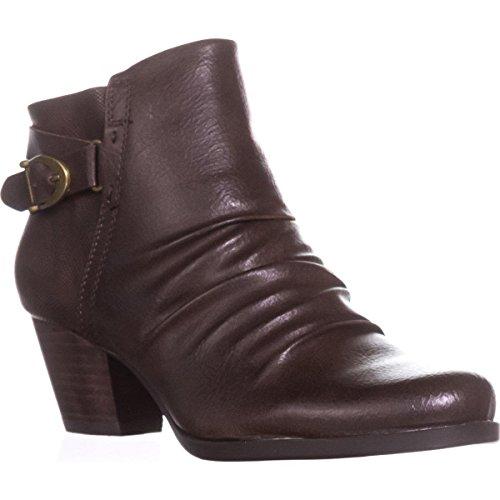 BareTraps Reliance Srunch Ankle Boots - Dark Brown 2IYQ7Jnm