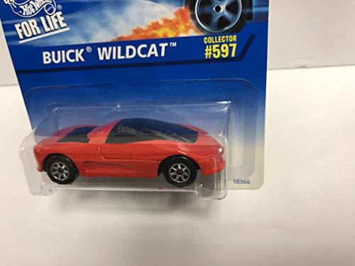 - BUICK WILDCAT 1996 Mattel Hot Wheels Collector diecast 1/64 scale No. 597