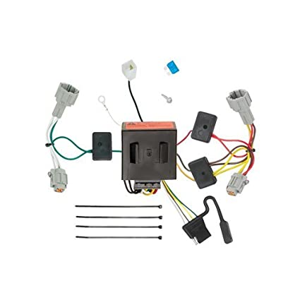 Amazon.com: Draw-e T-Connector Hitch Wiring Kit Nissan ... on