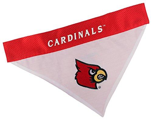 Louisville Cardinals Halloween (Pets First Collegiate Pet Accessories, Reversible Bandana, Louisville Cardinals,)