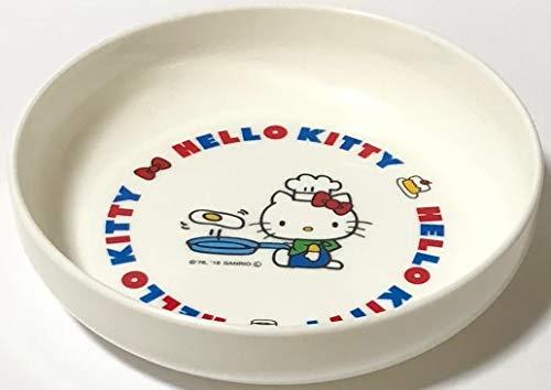 Sanrio Hello Kitty Mini Bowl Small Dish Polypropylene 13 × 3 × 13 cm Microwave OK Dinnerware Saucers Kitchen (Blue)