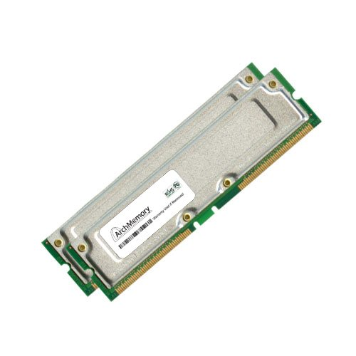 Memory Upgrades Rdram Computer Ram - 1GB (2 x 512MB) RAM Memory PC800 45ns Non ECC RDRAM RAMBUS for the Dell 8100 Upgrade by Arch Memory