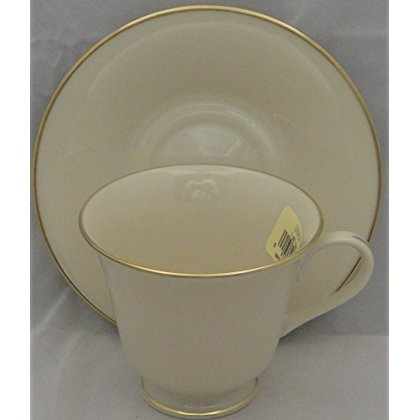 Lenox Hayworth Footed Cup & Saucer Set