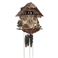 Schneider 12 Inch Wood Chopper Black Forest Cuckoo Clock