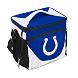 Logo Brands 614-63 NFL Indianapolis Colts 24 Can Cooler, One Size