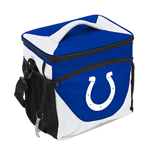 (Logo Brands 614-63 NFL Indianapolis Colts 24 Can Cooler, One Size)