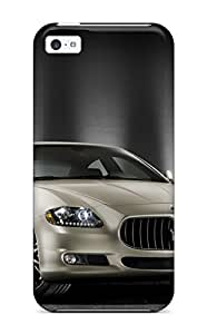 2677464K54555686 Iphone 5c Case Cover - Slim Fit Tpu Protector Shock Absorbent Case (maserati Quattroporte 19)