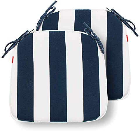 IN4 Care Set of 2 Indoor Outdoor Seat Cushions 16×17 Inch