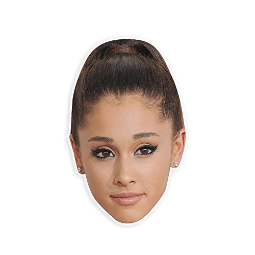 Sexy Ariana Grande Mask - Perfect for Halloween, Masquerade, Parties, Events, Festivals, Concerts - Jumbo Size Waterproof Laminated - Halloween Costumes Ariana Grande