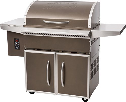 Traeger TFS60LZAC Select Elite Grill, Large, Bronze For Sale