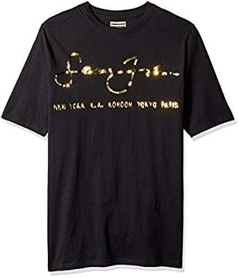 Sean John Men's Big and Tall Short Sleeve Internationally Know Tee
