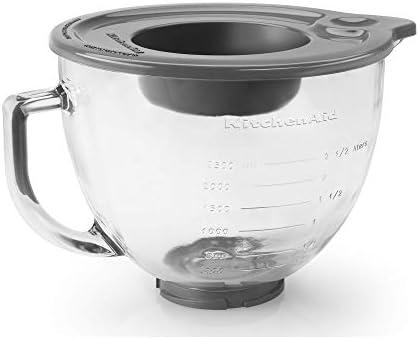 Kitchenaid K5GB batidora y robot de cocina, Vidrio, Transparente: Amazon.es: Hogar