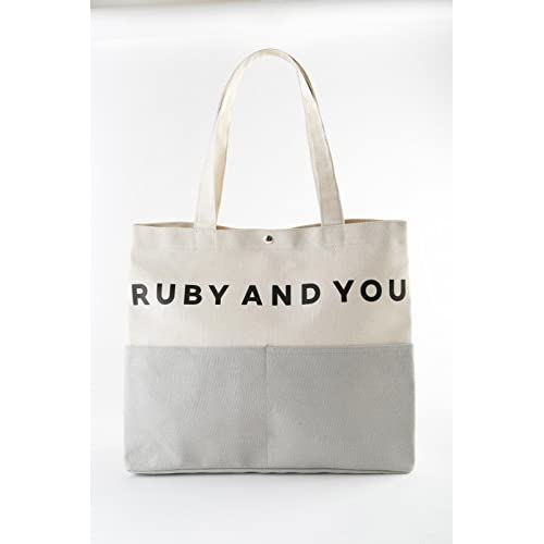 RUBY and you tote bag book 画像 B