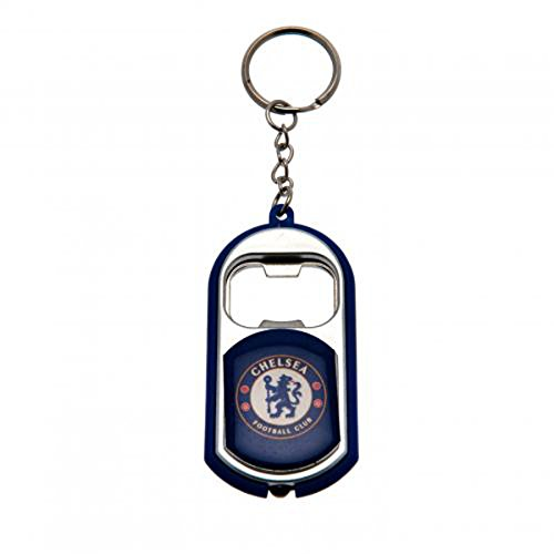 Chelsea Torch Light Bottle Opener Keyring - - Bottle Key Devils Ring Opener