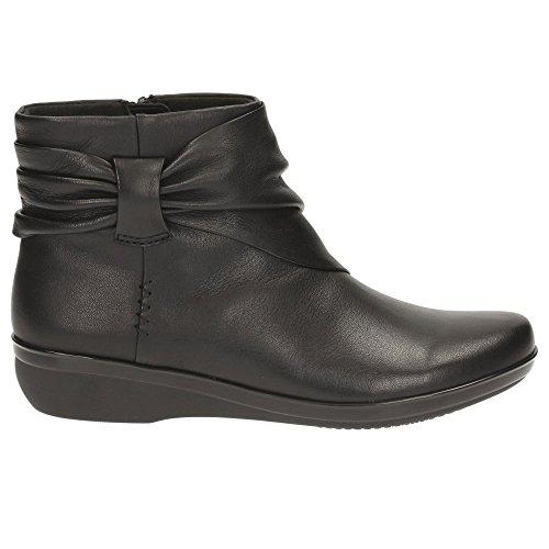 Clarks Everlay Mandy - Black Leather