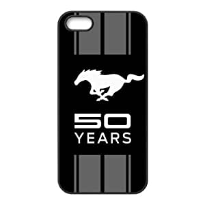 Car Ford Mustang Logo SO YEARS Unique Apple Iphone 5 5S Durable Hard Plastic Case Cover CustomDIY