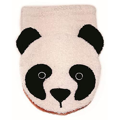 Furnis Organic Cotton Washcloth Mitt Panda Bear Puppet Child Size Fürnis/_908