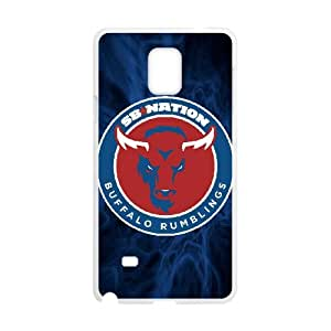 Buffalo Bills Team Logo Samsung Galaxy Note 4 Cell Phone Case White 218y3-158242
