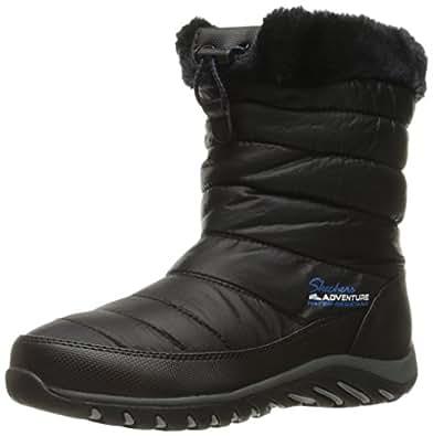 Amazon.com | Skechers Women's Descender Winter Boot | Boots