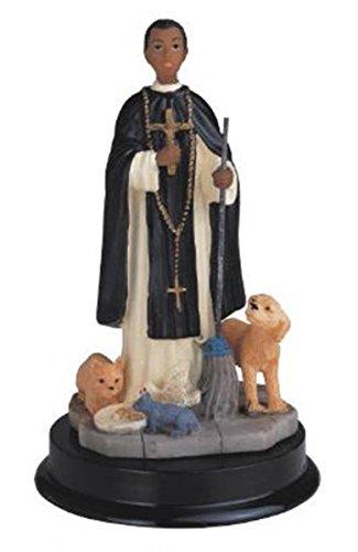 (StealStreet SS-G-305.27 Martin De Porres Holy Figure Religious Decoration Statue Decor, 5