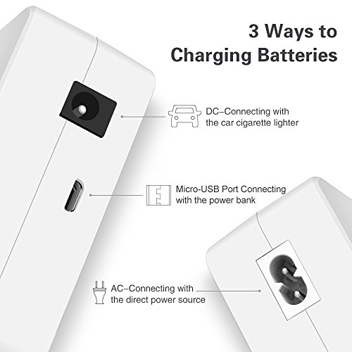RDtech Tello 4-in-1 Charger Hub, Rapid Parallel Battery