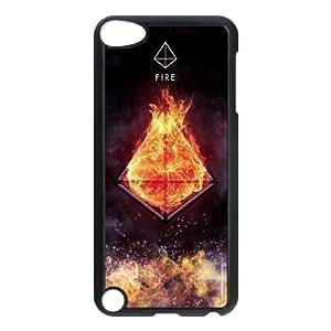 Clzpg Custom Ipod Touch 5 Case - Fire phone case
