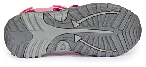 Trespass Nantucket, Sandalias Punta Cerrada Unisex Niños Rosa (Cotton Candy)