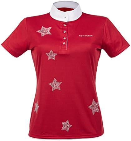 EKKIA(エキア) 乗馬用具 E-TH.STARS SS POLO L.RED 36 987034336 987034336