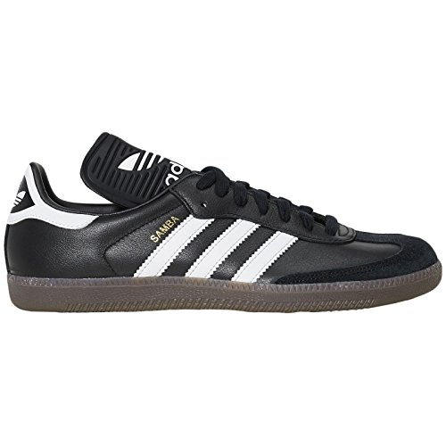adidas Mens Samba Classic OG Core Black Footwear White Leather Trainers 9 US (Adidas Samba Trainer)