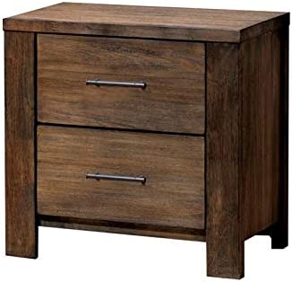 BOWERY HILL 2 Drawer Nightstand in Oak
