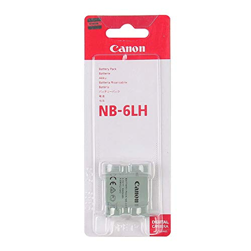 New Battery Pack NB-6LH for Canon PowerShot S120 SX510 HS SX520 SX280 SX500 IS SX700 SX710 SD770 D20 S90 D30 ELPH 500 SX270 SX240 Camera