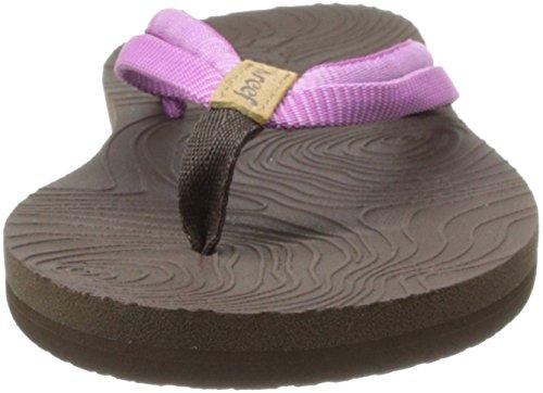 Violet De Zen Chaussures Et Double Femme purple Plage brown Reef Piscine w7gRTxq
