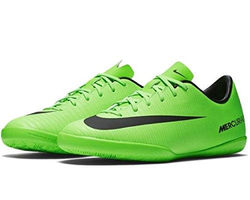 nike-jr-mercurial-vapor-xi-ic-indoor-soccer-shoe-sz-45y-electric-green-black