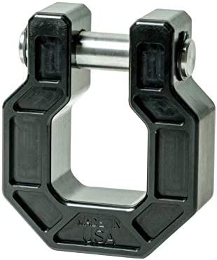 Towing Shackle Bumper D Ring Shackle//D Ring Made in USA Receiver Tested at 33,000 lbs Jeep Wrangler Hook 3//4 pin