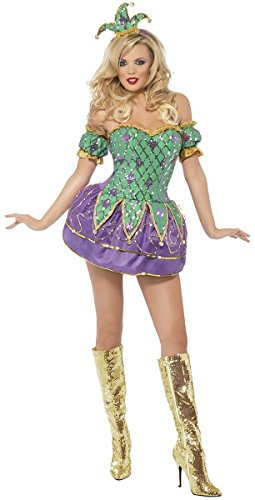 Harlequin Shine Costume - Small - Dress Size 6-8