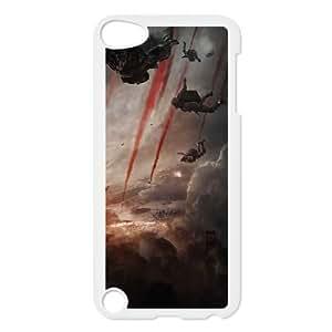 iPod Touch 5 Case White Godzilla 2014 Movie LSO7854645
