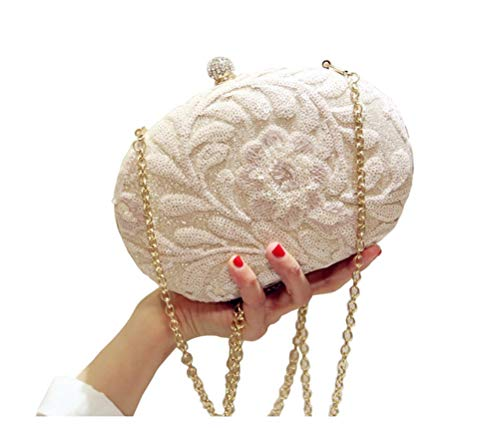(Always Pretty Womens Embroidery Clutch Evening Prom Purse Clutch)