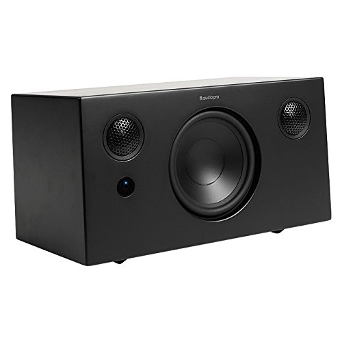 Audio Pro Addon T10 gen2 Negro Altavoz - Altavoces (Inalámbrico y alámbrico, 3.5mm/Bluetooth, 45-22000 Hz, Negro)