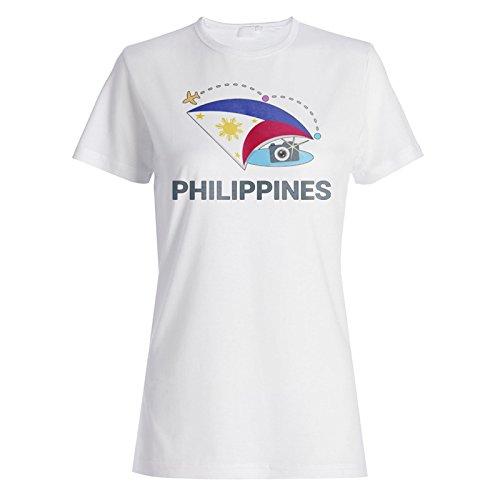 Neue Philippinen Fotokamera Damen T-shirt m445f