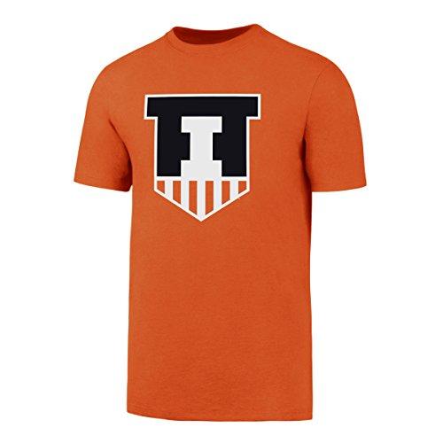 NCAA Illinois Illini Men's OTS Rival Tee, Orange, Medium