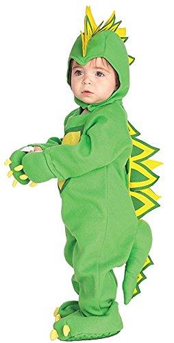 Dragon Halloween Costumes Toddler (Rubies Dragon / Dinosaur Child Romper Halloween Infant Costume size 6-12 months INFANT)