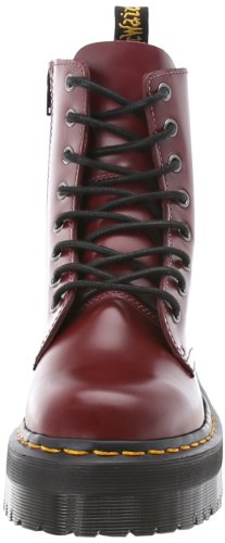 Unisex 1460 Martens Quad Adults' Black Jadon UK 6 Smooth Retro Men US Dr Brogues Red Cherry Polished qt5Cwxdw